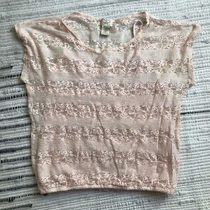 Pink sparkly Eyelash Couture top